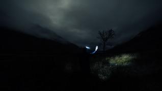 Late night dram by Loch Etive