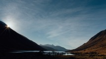 Sunbreak, Glen Etive, Winter
